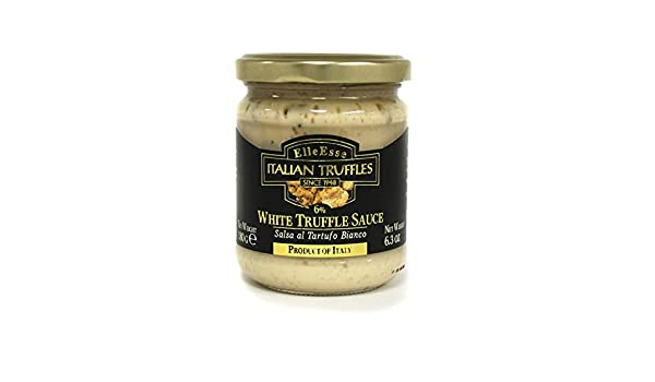 Amazon.com : Elle Esse - Italian White Truffle Sauce 6.3 oz (180g) : Grocery & Gourmet Food