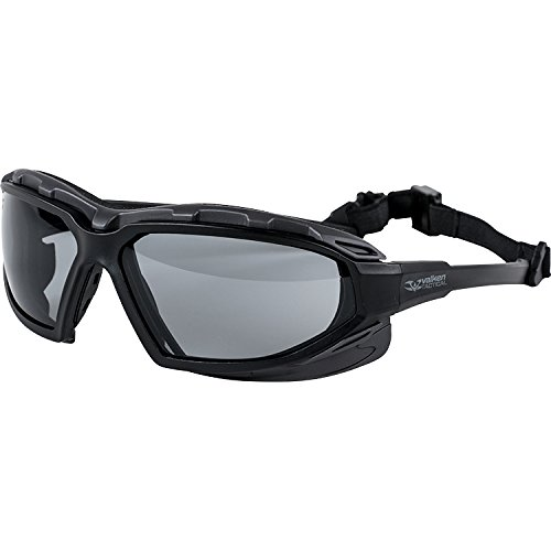 Valken Airsoft Echo Goggle, Clear Lens (Best Airsoft Goggles For Glasses)