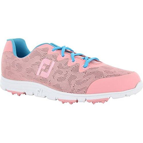 (FootJoy Women's Enjoy Golf Shoes Pink Rose Size 9 M US)