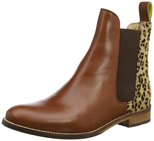 Noir Femme Chelsea Westbourne Joules Bottes Leopard Marron tIwpf