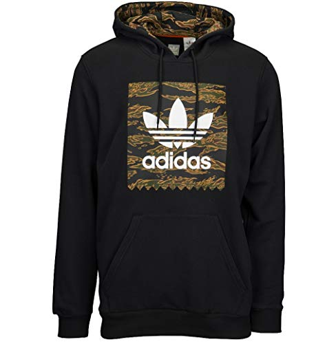 8c633f4c8147 Adidas Originals Men s Skateboarding Camo Blackbird Hoodie