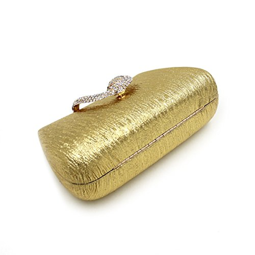 Sac Soirée Mariage à Diamant Chaine Kigurumi à Main Main Bandouliere Sac Bal Pochette Or qEwx5nnHAv