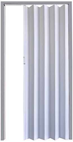 Flexi Space White Matte Folding Door 34 Wide Guayana