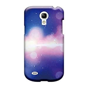 CharlesPoirier Samsung Galaxy S4 Mini Perfect Cell-phone Hard Covers Support Personal Customs Trendy Space Lights Image [qtX6914Uoke]