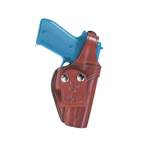 Bianchi, 3S Pistol Pocket Leather Holster, Plain Tan, Size 02, Right ()