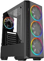 Computador Gamer Skill AMD Ryzen 5 3400G 4.2Ghz, Radeon RX VEGA 11, 8GB DDR4, HD 2TB SSD 120GB