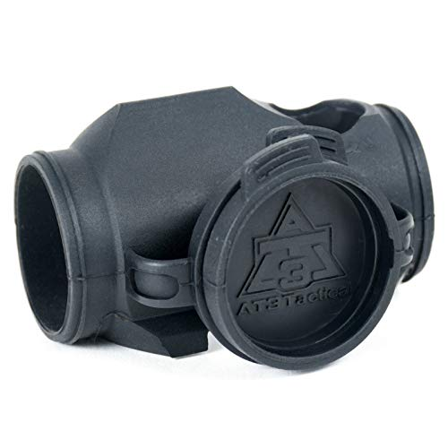 (AT3 Tactical RD-Armor Optic Cover with Integrated Lens Caps for RD-50 Red Dot Micro Reflex Sight)