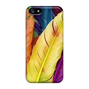 Tpu Case For Iphone 5/5s With Abstract Colors