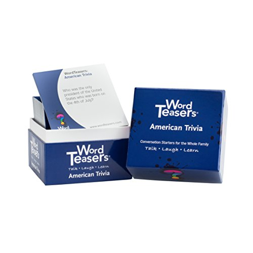 Word Teasers WT-0008 Flash Cards American Trivia