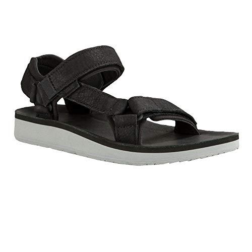 Sandal Premier Leather Original Women's Black Outdoor And Sports Universal Teva Lifestyle W7OanzH