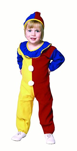 & Costumes Clown Pajama Infant Toddler (Clown Pajama Toddler Costume (Toddler 2-4,)