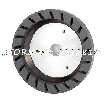 FINCOS 6# Grit 22mm Bored Grinding Wheels for Beveling Glass Edging Machine