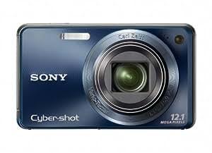 Sony Cyber-shot DSC-W290 12 MP Digital Camera with 5x Optical Zoom and Super Steady Shot Image Stabilization (Dark Blue) (OLD MODEL)