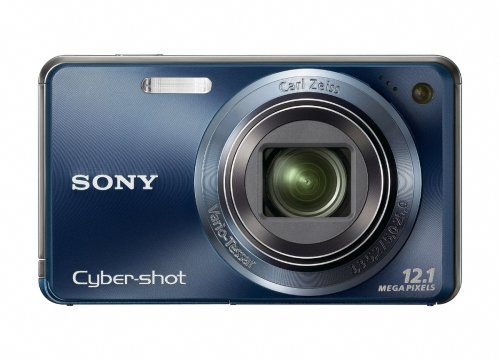 Sony Cyber-shot DSC-W290 12 MP Digital Camera with 5x Optical Zoom and Super Steady Shot Image Stabilization (Dark Blue) (OLD MODEL) ()