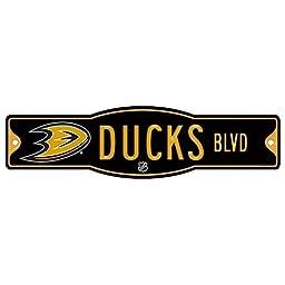 NHL Anaheim Ducks 34166010 Street/Zone Sign, 4.5\