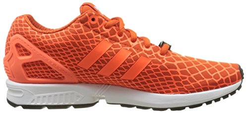 Techfit ftwr collegiate Flux White Zx Basses Orange Adidas Baskets Orange solar Orange Homme EwqOTPZxS