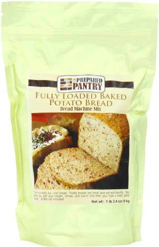 The Prepared Pantry Bread Machine Mix, Fully Loaded Baked Potato, 18.4 Ounce