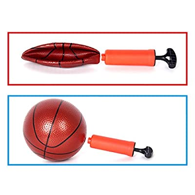 FenglinTech Adjustable Portable Toy Basketball Hoop for Kids - 63 -150CM: Toys & Games