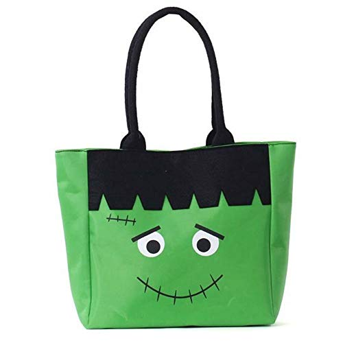DGZC Halloween Bag Trick or Treat Bag Reusable Durable Tote Storage for Children -