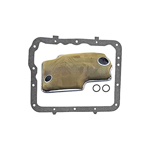 MACs Auto Parts 66-31398 - Thunderbird Transmission Screen & Pan Gasket Kit, Cruise-O-Matic, MX Version