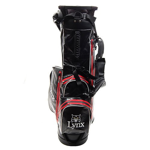 Lynx New Predator Waterproof Golf Stand Bag (Red/Black) by Lynx