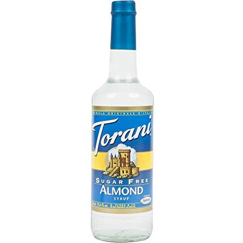 Torani Sugar Free Almond Syrup 750-ML (Pack of 3)