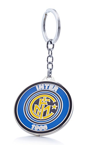 Official Soccer Team Football Club Logo Metal Pendant Keychain (F.C. Internazionale Milano)