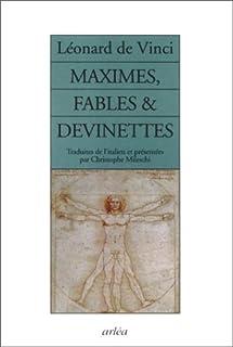 Maximes, fables & devinettes, Leonardo (Da Vinci)