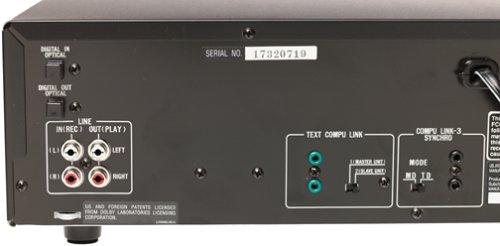 JVC XU-301BK Component Minidisc Recorder/3-CD Changer