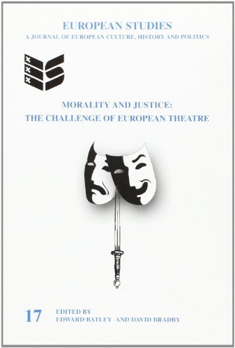 Morality and Justice: The Challenge of European Theatre (European Studies Series) by Edward Batley (2001-01-01) Text fb2 ebook