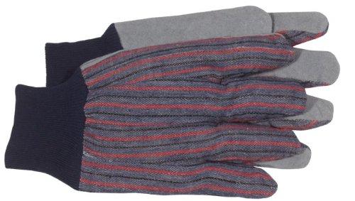 4090 Lg Men'S Split Leather Palm Glove W/Knit Wrist