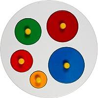 Little Genius Circular Size Sorting Board, Multi Color