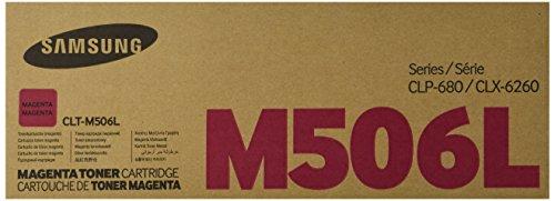 Samsung CLT M506L Magenta Yield Cartridge product image