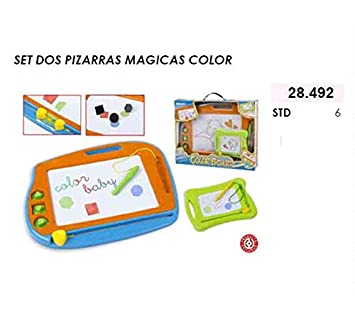 ColorBaby - Set 2 pizarras mágicas Color, 41 x 34 cm (28492 ...