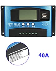 Zandreal 40A-100A MPPT Solar Panel Regulator Charge Controller 12V/24V Auto Focus Tracking Device