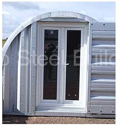 Duro Span Steel M16x21x11 Metal Building Barnyard Shed Kit