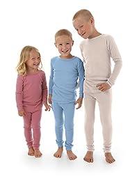 Simply Merino Merino Wool Kids Clothes. Thermal Underwear Base Layer Unisex.