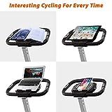 BCAN Folding Exercise Bike, Magnetic Upright