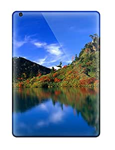 Best Durable Case For The Ipad Air- Eco-friendly Retail Packaging(reflection Of Autumn Trees) 5799666K68520283