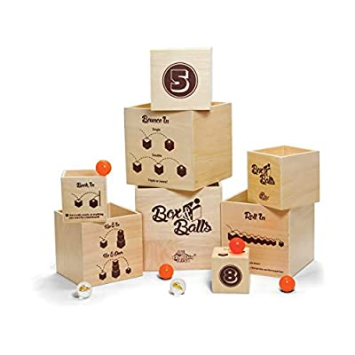 Fat Brain Box and Bouncy Balls Toy: Industrial & Scientific