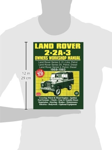 land rover 2 2a 3 owners workshop manual 1959 1983 autobook rh amazon co uk land rover discovery 3 owners manual pdf land rover series 3 owners manual pdf