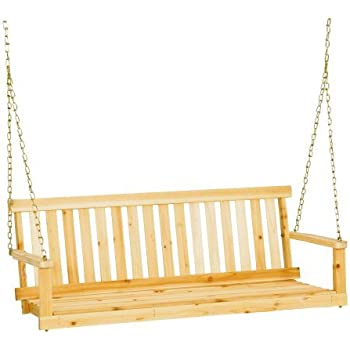 Amazon Com Leigh Country Unfinished Porch Swing 4 Feet