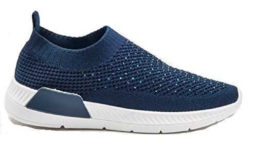 T Navy Koo Donna Koo Sneaker T XHHSEq