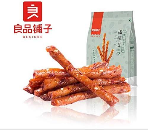 中国名物 おつまみ 大人気 Daben®良品铺子 麻辣棒棒卷 辣条 相思卷 辣片 素食火辣味 100g