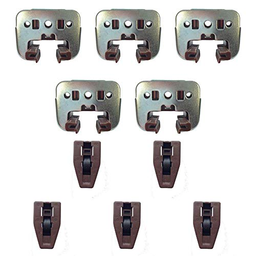 Kenlin Rite-Trak I Replacement Drawer Parts - Kenlin Drawer Guides (5 Sets)
