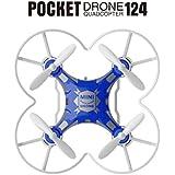 [Quadcopter] SBEGO Mini Drone RC Quadcopter Micro Pocket Remote Control Headless UFO UAV Gift (Blue)