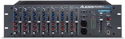 Alesis Multimix 10 Wireless | 10-Channel Mixer with Integrated Bluetooth Wireless Capability (Alesis Mixers)