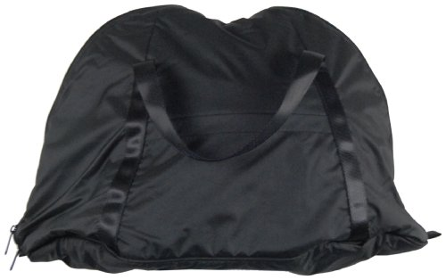 Vega Plush Full Face Helmet Bag (Nylon Black, Large) (Face Bag Helmet)