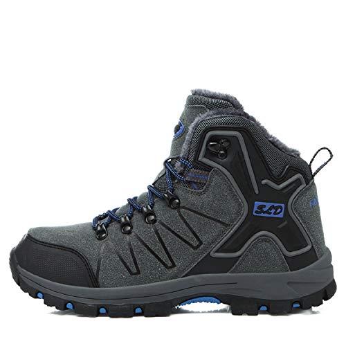 Bottes Z Impermable Tqgold Trekking Randonne De Extrieur Hommes Gris Chaussures 1BxRgqxF
