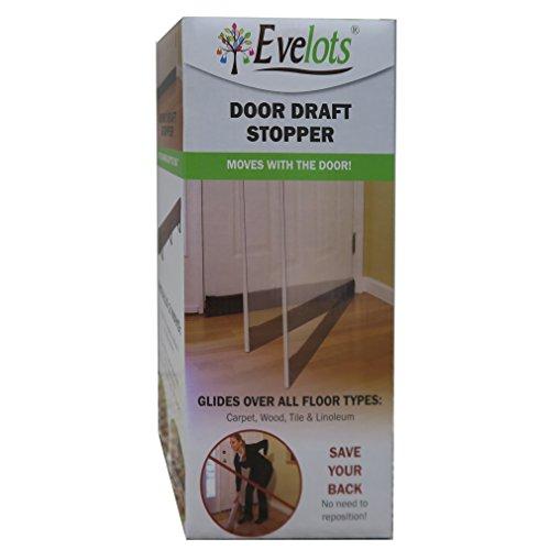 Evelots 36 Quot Magnetic Clip On Door Draft Stopper Energy